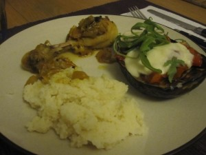 Eggplant and Chicken