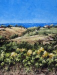 """Canvas 7, """"Hilltop of Gold"""""""