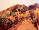 """Canvas 11, """"Umbrian Castle"""""""