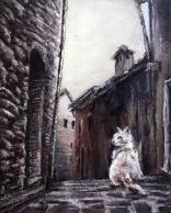 "Canvas 16, ""Palace Cat"""