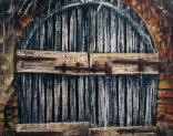 """Canvas 17, """"Seaside Door"""""""