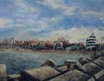 "Canvas 20, ""Wintertime in Senigallia"""