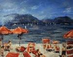 """Canvas 22, """"Lago di Garda"""""""