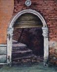 """Canvas 23, """"Venetian Doorway"""""""