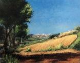 """Canvas 24, """"Marche Hills"""""""