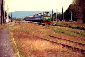 EasternEuropeUkraineTrain