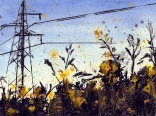 MarcheSunflowersAtSunset