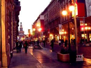 MilanoStreetDusk
