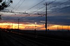 AnconaRailwayTracksSunset