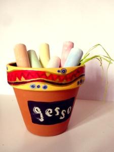 Chalk Pot
