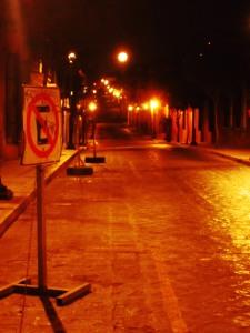 MexicoCityNighttimeStreet